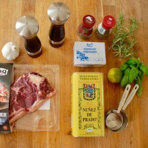 overzicht ingrediënten cote de boeuf